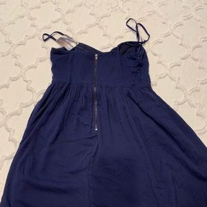 Lucca Couture Dresses - NEW Luca Couture scrappy dress - Navy M - NWT